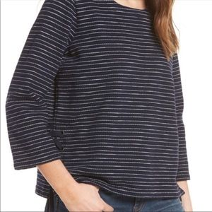 MADEWELL Long Sleeve Crop Size Small